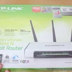 TP-Link WiFi Gigabit router TL-WR1043ND unboxing