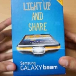 Galaxy Beam Projector android phone Unboxing & hands on Overview