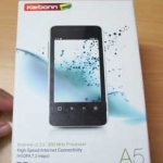 Karbonn A5 Android phone unboxing & first looks