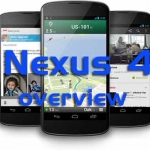 NEXUS 4 Android Phone Overview