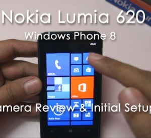 Nokia Lumia 620 Camera Review & Initial Setup