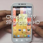Exclusive – Celkon Signature A119 5″ 720p HD Android Phone Hands on Overview