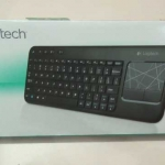Logitech K400 Wireless Keyboard with Trackpad Unboxing
