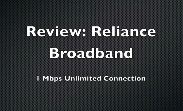 how to connect reliance netconnect