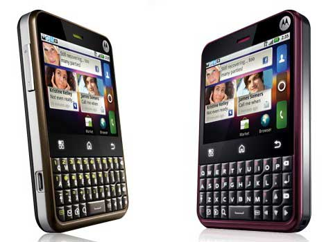 Motorola Charm a QWERTY Android