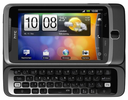 HTC Desire Z QWERTY phone