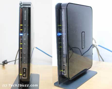 Netgear 3700 vertical profile