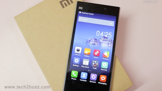 Xiaomi Mi3 unboxing and first initial impressions!