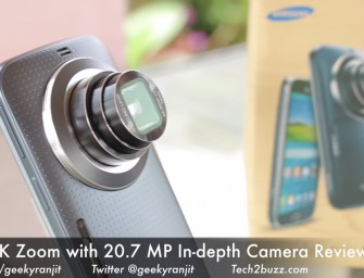 Samsung Galaxy K Zoom 20.7 MP Android Phone with 10x Zoom Indepth Camera Review