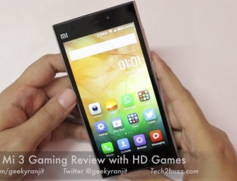 Xiaomi Mi3 Gaming Review and FAQ Section