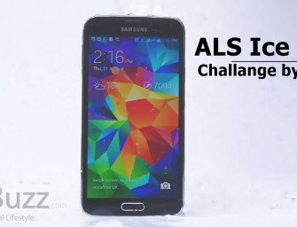 Samsung Galaxy S5 takes the ALS Ice bucket challenge and nominated iPhone, HTC M8 and Lumia 930!