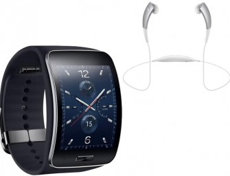 Samsung Gear S Tizen Smartwatch announced by company ahead of IFA 2014