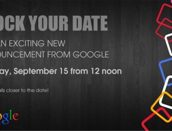 Google sends invites for 15th September and points towards the launch of Android ONE!
