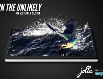 Jolla smartphone is launching in India on September 23 exclusively on Snapdeal, Confirms our sources!